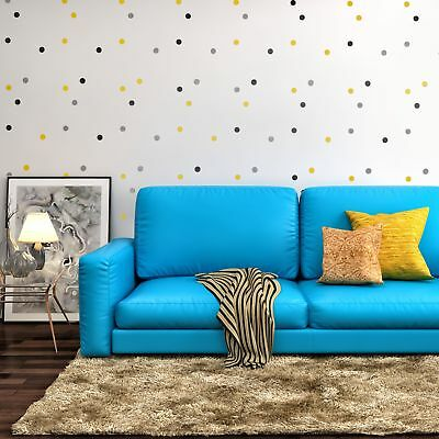 POLKA DOT CLUSTER Furniture Wall Floor Stencil for Painting