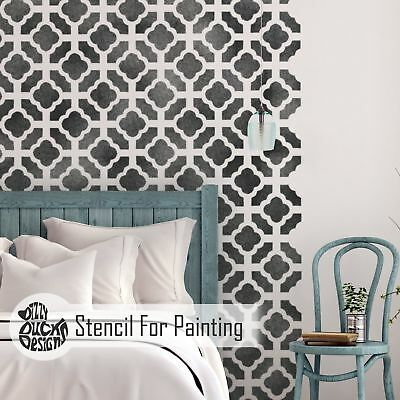 CHINESE GARDEN Furniture Wall Floor Stencil for Painting