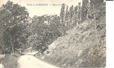Carte postale - (21) Côte d'Or - CPA - Vallée de Sampigny - Route de Nolay