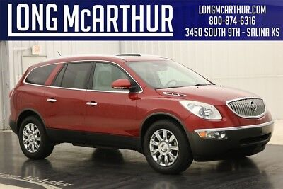 Buick Enclave 4X4 LEATHER REAR BUCKET SEATS 3.6L V6 AWD  SUV 4WD HEATED SEATS CLEAN AUTOCHECK WITH ZURICH CERTIFIED WARRANTY! HEATED FRONT SEATS REMOTE START