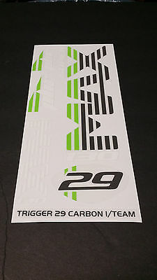 Sticker Decal Set for 2010 Cannondale RZ140 3 Lefty Max PBR Bonded Clamps