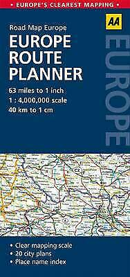 Europe Route Planner - 9780749575380