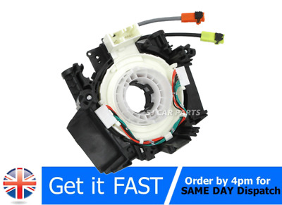 Airbag Spiral Cable Clock Spring For Nissan Navara X-Trail Qashqai J10 Mk1 Note