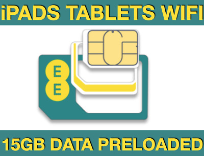 EE 4G Mobile Broadband PAYG Multi Sim, Preloaded 10GB Data, Start When You Use