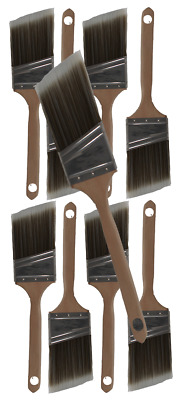 """2-1/2"""" Angle House Wall,Trim Paint Brush Set Home Exterior or Interior Brushes"""