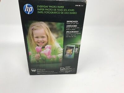 HP Photo Paper 100 Sheets 4x6 Glossy CR759A - FREE SHIPPING Brand New