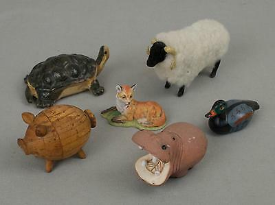 Small Animal Collection Six Figures
