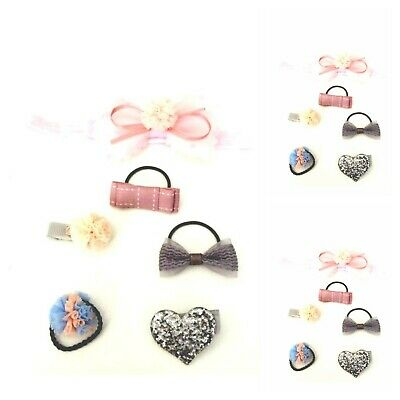 Baby Girls Small  Hair Bobbles  Small Hair Clips and Hairband (SALE )