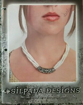 SILPADA 2001-2002 Catalog Guide.Very Rare & Hard to Find!! Used, 3 hole punched.