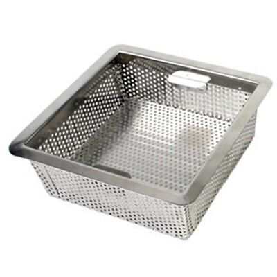 SM Stainless Steel Metal Commercial Floor Water Drain Strainer Basket Straining
