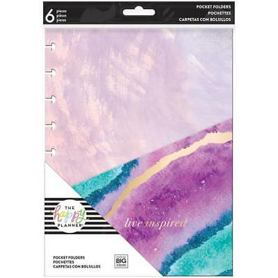 Create 365 The CLASSIC Happy Planner - POCKET FOLDERS - EVERYDAY - 6pc