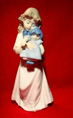 NAO by LLADRO *WE'RE SLEEPY* PORCELAIN FIGURINE #1107 MADE IN SPAIN