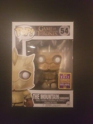Funko POP! Game of Thrones The Mountain Armored 2017 Summer Convention Exclusive
