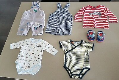 Baby boys clothes size 000 Pumpkin Patch, Osh Kosh and Elmo bundle