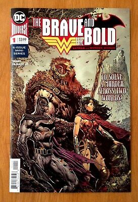 Brave and the Bold  Batman and Wonder Woman # 1 Cover A 1st Print DC 2018 NM