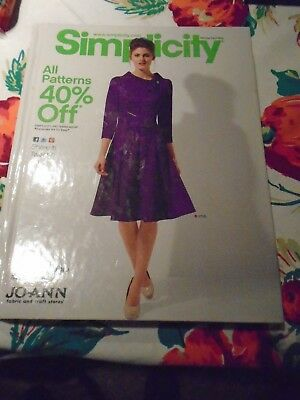 Simplicity Counter Pattern Book Winter Holiday 2012