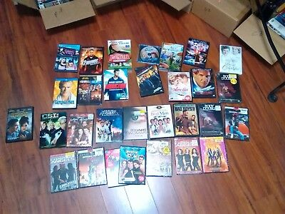 Over 100 Dvd &bluray  Tv Shows And Movies $1.75 To 2.75