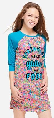 NWT Justice Girl's Sprinkle Scented Nightgown. Size 10, 12, 14/16 or 18/20.