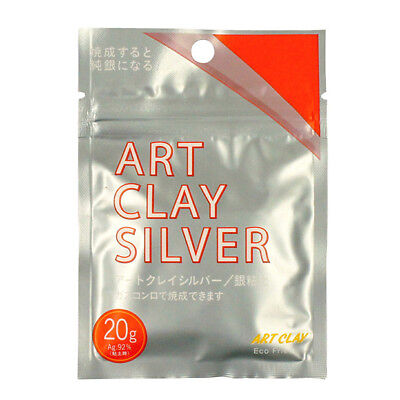 Art Clay Silver 20g  for Craftwork of Silver Accessoris from JAPAN