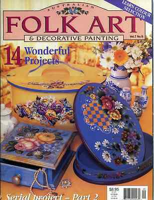 Magazine -   Fine Art & Decorative Painting Vol.7 No.9