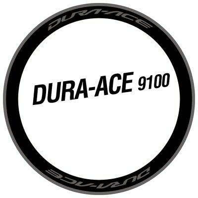 DA R9100 C24/C40/C60 Rim Sticker Set for Two Carbon Wheels Road Bike Race Decals