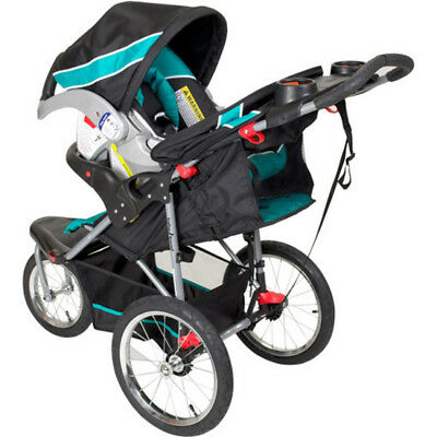 NEW Baby Trend Expedition Jogger Stroller Travel System Tropic Infant Car Seat