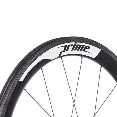 Two Carbon Wheel Sticker Set for Prime Rim Road Bike Race Decals Water Proof