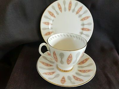 Vintage Royal Albert Trio .Safari Pattern