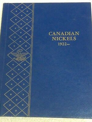 FULL Book of 53 CANADIAN Nickels 1922-1967.