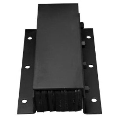 Loading Dock Bumpers IRONguard Series Steel Faced Rubber Bumper, Rectangular,