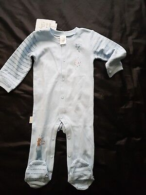 Baby boys Blue bodysuit Size 0