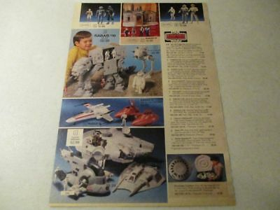 80's Vintage Toys Star Wars Empire Strikes Back Leisure Vision Electronic Pub Ad