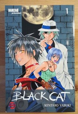 ★ ☆ ★  Black Cat ★ ☆ ★  Band 1 ★ ☆ ★  Carlsen Comics ★ ☆ ★  TOP!