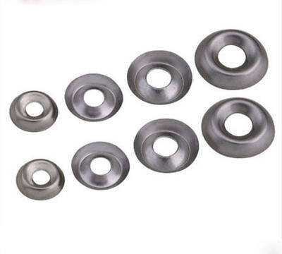 304 Stainless Steel 6# 8# 10 #12#  Cup Washer Fish - Eye pad Decorative Gaskets