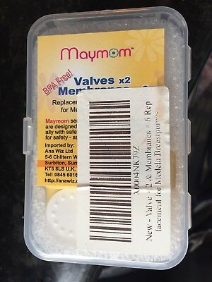 Replacement Valves and Membranes for Medela Breast Pumps (2 valves+ 6 Membranes)