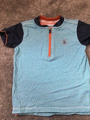 Designer Ted Baker T Shirt Top 18-24 Months Blue Boys Toddler Smart