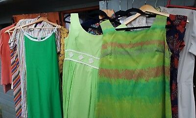 Job lot women's vintage clothing 1970s/80s mixed sizes, all in vgc