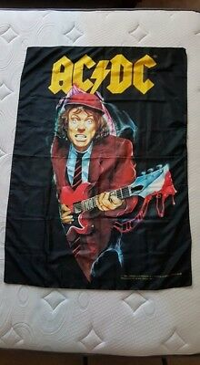 Ac Dc Angus Young Flag Banner