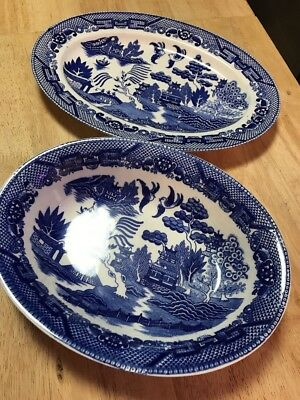 Vintage Japanese China Serving Bowl & Platter