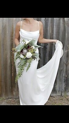 Wedding Dress- Caleche Bridal Size 12-14 (Tall Bride)