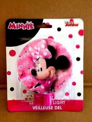 "Disney ""minnie Mouse"" Plug In Led Night Light"