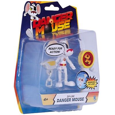 Danger Mouse 3-Inch Figure with Zipline Accessory