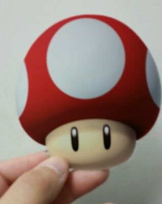 Super Mario Bros. Mushroom sticker (red). 4 x 4. (Buy 3 stickers, GET ONE FREE!)