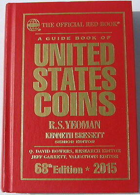 "2015 ""REDBOOK"" 68th  EDITION BY R. S. YEOMAN HARD COVER"