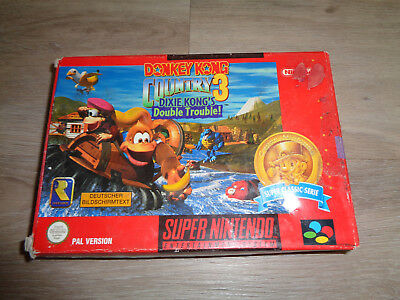 Donkey Kong Country 3 - SNES nur Verpackung und Anleitung - Super Nintendo