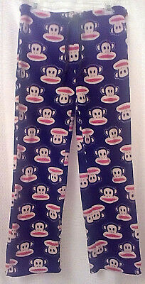 Paul Frank Sleep Lounge Pants Julius the Monkey M Fleece
