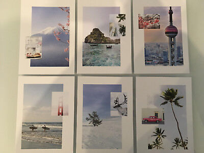 Finnair Airlines  Postcard Set Of 6.airline Issue **new 2018**