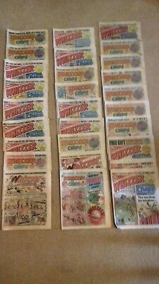 28 Whizzer and Chips Comics 1977 - 1980  in Excellent Condition *