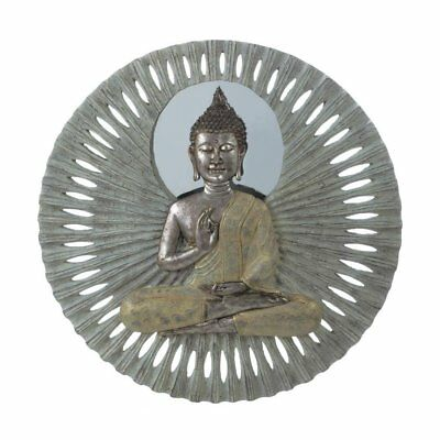 Wall Art Decor, Buddha Circular Bathroom Living Room Hanging Wall Art Bedroom