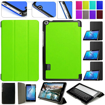 """Leather HUAWEI MediaPad T3/T1 Smart Stand Flip Case Cover For 7""""/8""""/9.6"""" Inch 10"""
